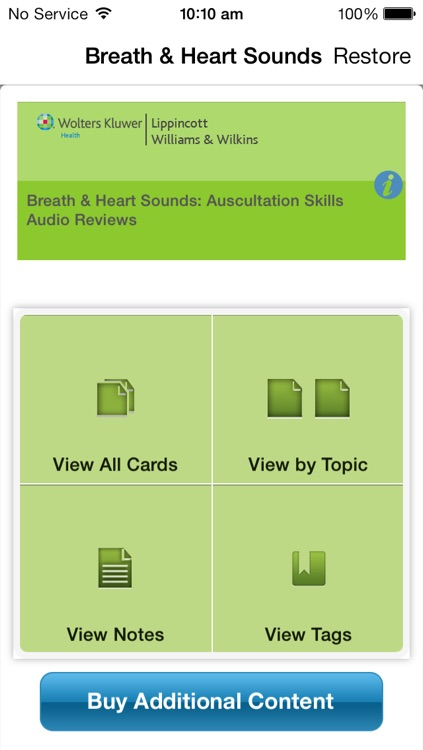 Breath & Heart Sounds: Auscultation Skills Audio Review
