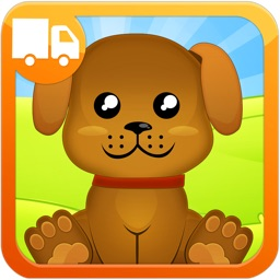 Animals Babies and Homes - First Words Preschool and Kindergarten Educational Learning Matching Puzzle Adventure Game for Toddler Kids Explorers