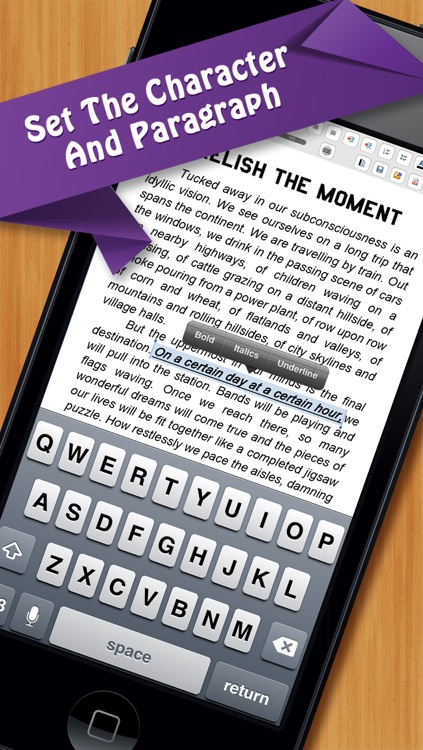 Documents On The Go - full docs for Microsoft Office Word & Quickoffice Quickword edition screenshot-4
