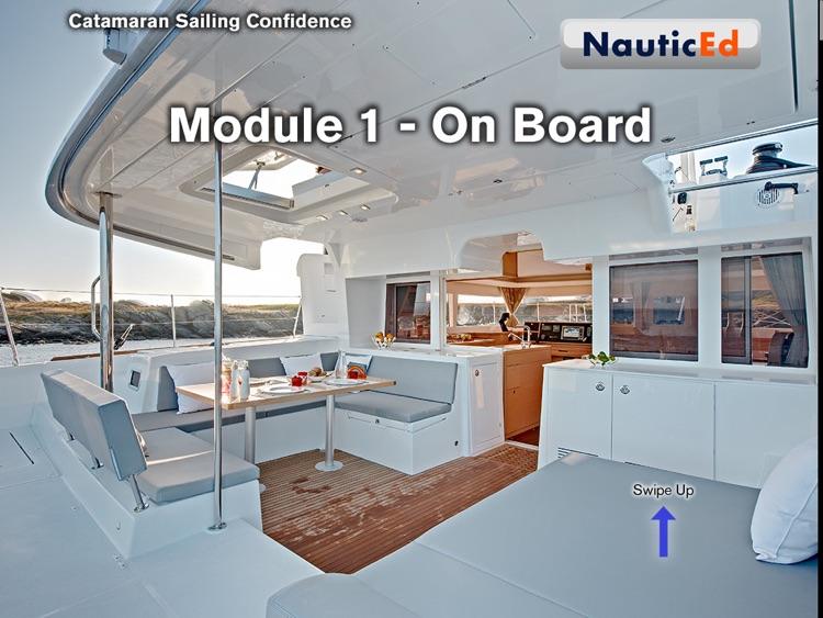 Catamaran Sailing Confidence