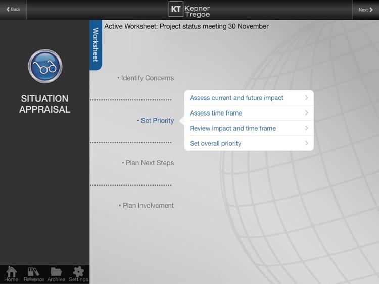 Kepner-Tregoe for iPad Free screenshot-3
