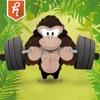 Gorilla Weight Lifting: ボディビル、パワーリフティング、ストロング、と筋力トレーニングはSwoleを取得するにはここをクリック! - iPhoneアプリ