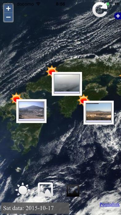 お天気カメラまっぷのおすすめ画像1