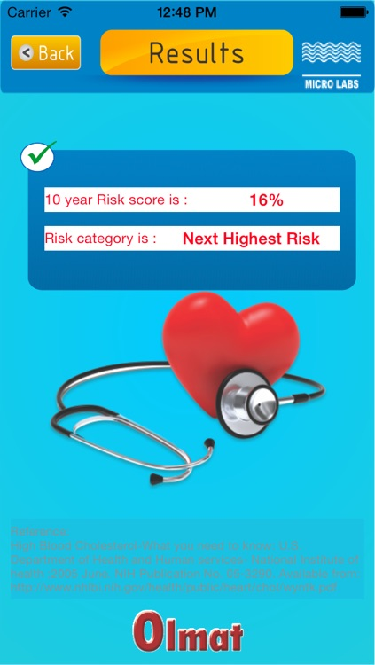 cv risk calculator by magna health solutions