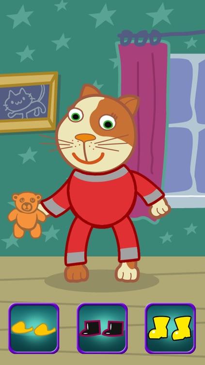 Cool Cat Dressing up Game screenshot-3