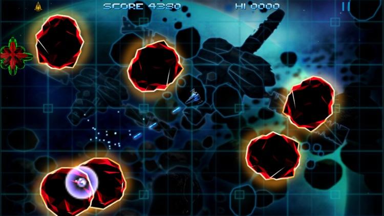 Retro Dust - Classic Arcade Asteroids Vs Invaders screenshot-3