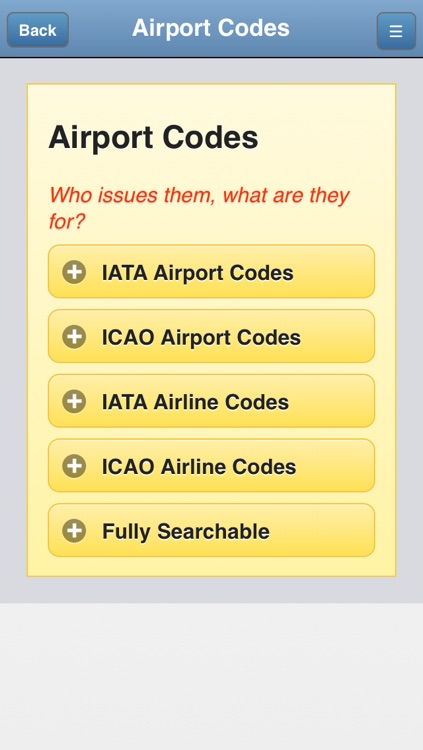 Airport Codes Database