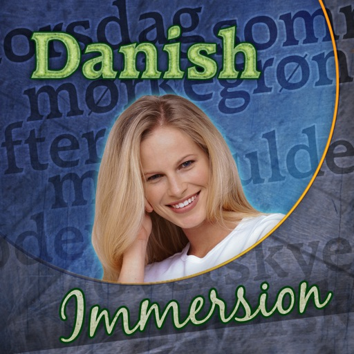 Danish Immersion - Learn to Speak & Talk Fast! Easy to Play Games, Quick Phrases & Essential Words