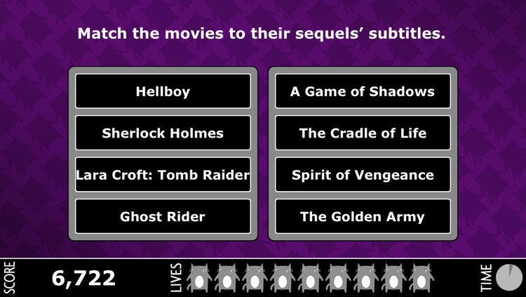 MovieCat 2 - The Movie Trivia Game Sequel! screenshot-3