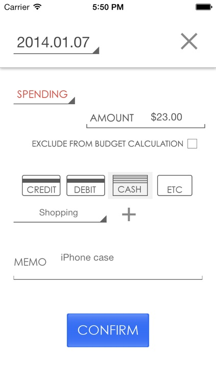 Budget Today - Know your daily balance screenshot-4