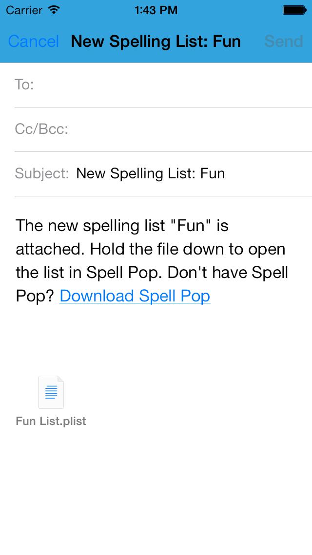Spell Pop Lists | App Price Drops