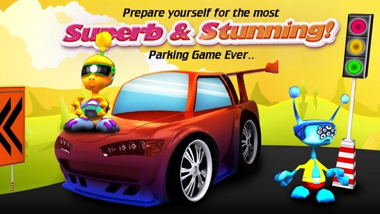 Troll Car Parking (Cartoon 3D) Free screenshot-4