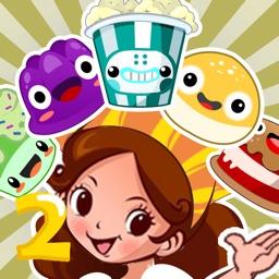 Sweet Cake Dining Car 2 Free - Girl cooking matching blast puzzle game