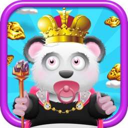 Baby Panda Bears Battle of The Gold Rush Kingdom - A Super Jumping Game FREE Edition!