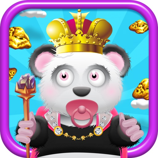 Baby Panda Bears Battle of The Gold Rush Kingdom - A Super Jumping Game FREE Edition! icon