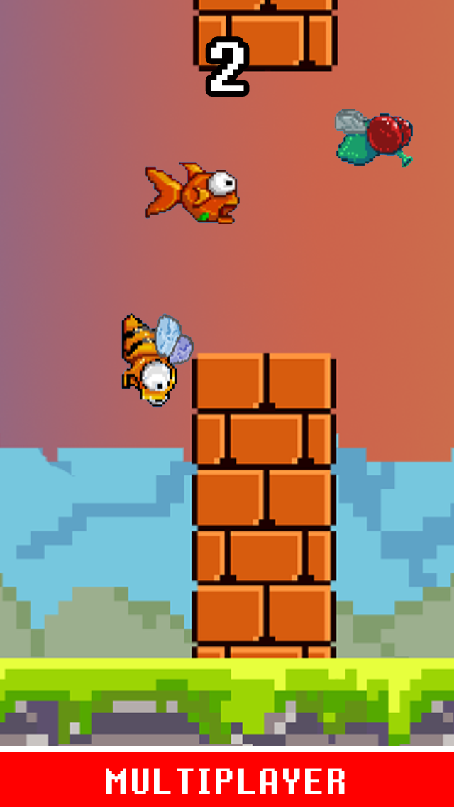 Flappy Fly Hard ™ - Not An Easy Bird Game Impossible!のおすすめ画像4