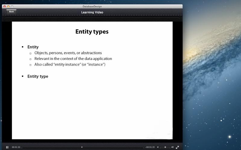 Database Design screenshot 3