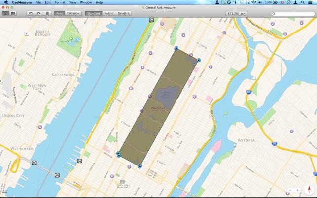 Geo Measure - Map Area / Distance Measurement