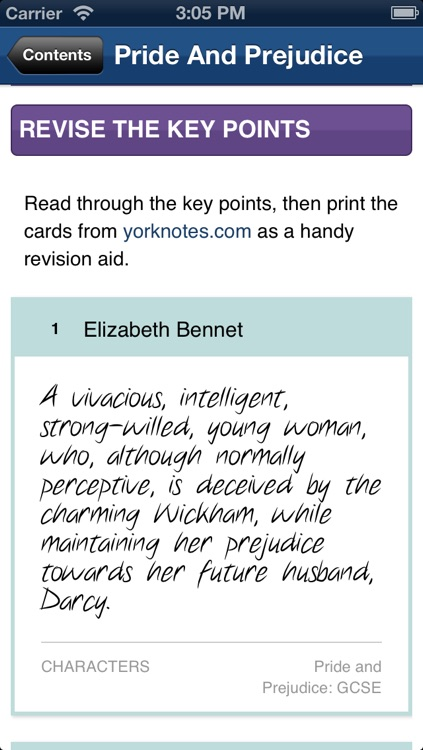 Pride And Prejudice York Notes GCSE screenshot-4