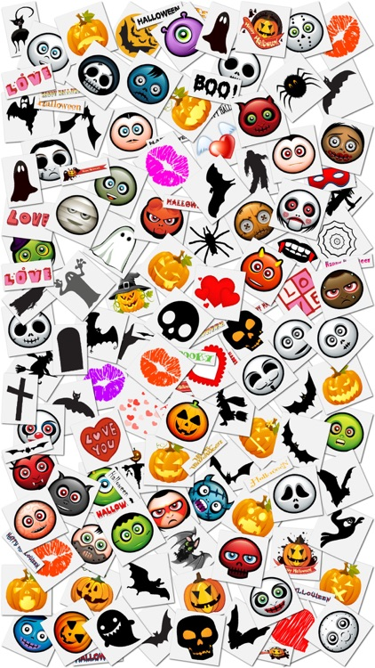 Halloween Greeting Cards and Stickers screenshot-3