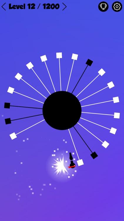 Ninja Hero - Circle Madness - Mobile Edition screenshot-3