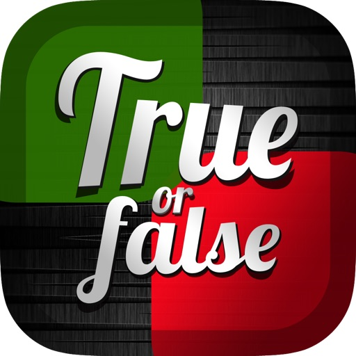True or False Quiz - Question guessing games for friends and family!