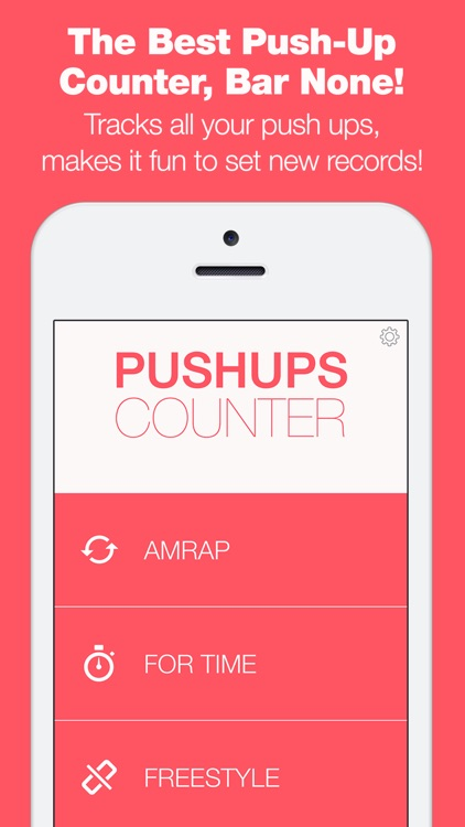 PushUp Counter - The Only Workout Tracker That Tracks Your Reps With Your Microphone! screenshot-0