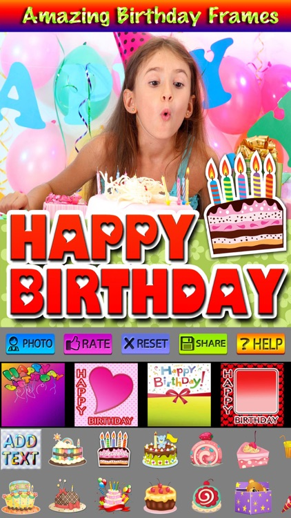Happy Birthday Cards and Cliparts