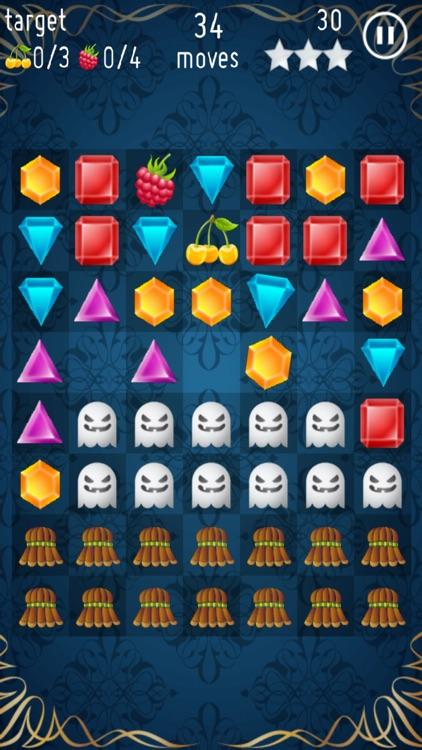 Jewels Crush - Free Game screenshot-3