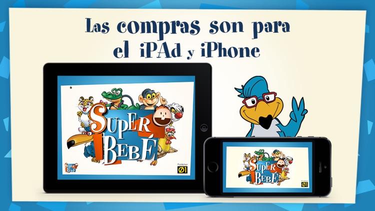 Super Bebé: Videos educativos para niños de 0 a 4 años screenshot-3
