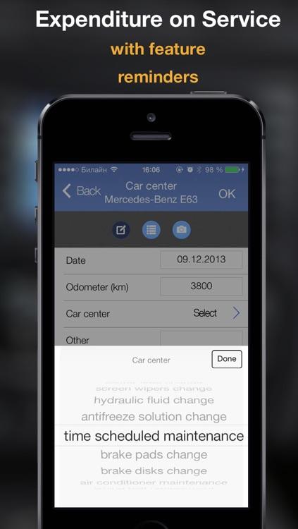 AutoStat - Car expenses, Fuel Log, Gas Economy screenshot-4