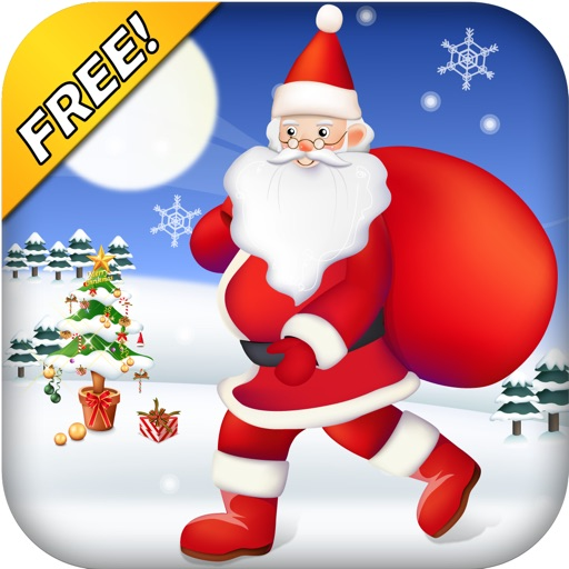 Santa Run Free - Jolly Runner on Xmas icon