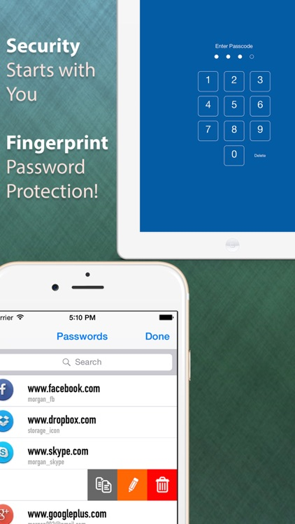 A Fingerprint Password Manager using Passcode - to Keep Secure screenshot-4
