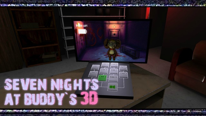 Seven Nights At Buddy's 3D Screenshot