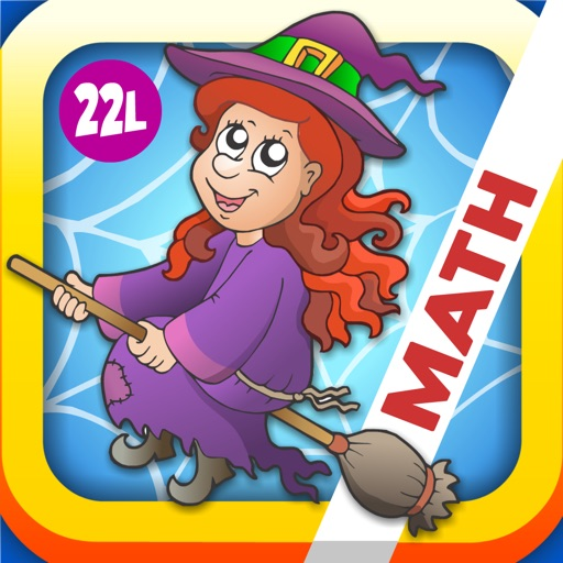 Adventure Basic School Math  · Math Drills Challenge and Halloween Math Bingo Learning Games (Numbers, Addition, Subtraction, Multiplication and Division) for Kids: Preschool, Kindergarten, Grade 1, 2