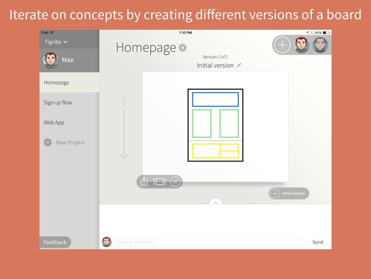 Quill - Collaborative Drawing and Wireframing for Teams screenshot-2