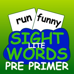 Sight Words Pre-Primer Lite Flash Cards - sight words for kids in preschool and kindergarten