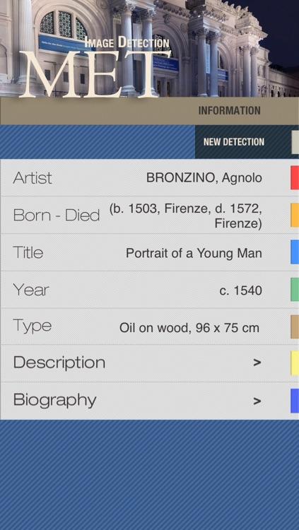The Metropolitan Museum of Art MET ID Audio Guide screenshot-3