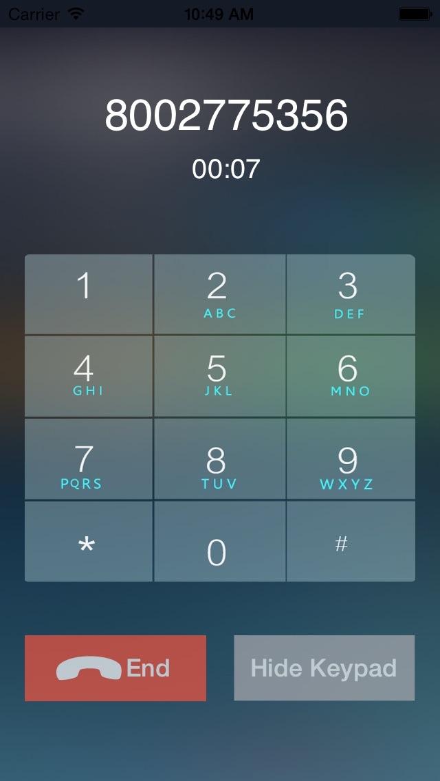 CallTime - Cheap US & Canada Phone Callのスクリーンショット3