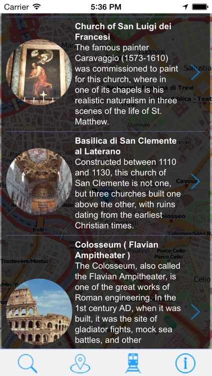 Offline Map Rome - Guide, Attractions and Transport screenshot-2