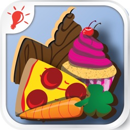 PUZZINGO Food Puzzles Game for Toddlers & Kids