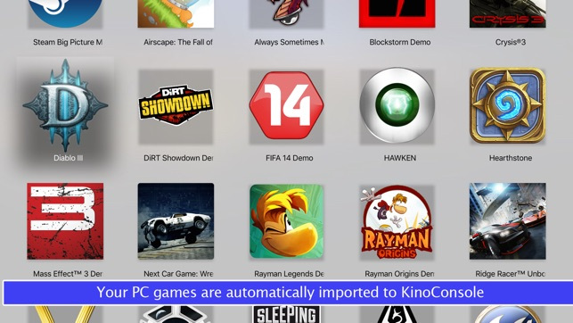 KinoConsole - Stream PC games on the App Store