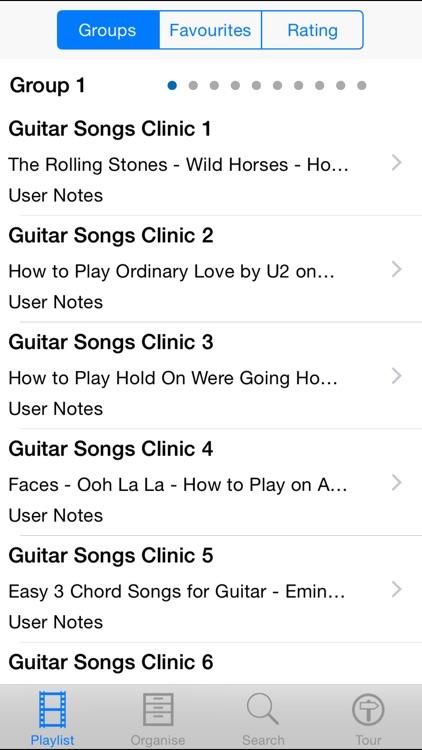 Guitar Songs Clinic by Tony Walsh