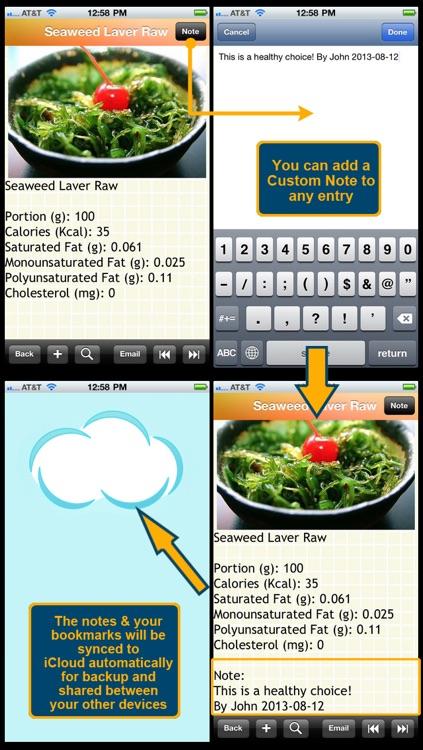 1300 Food Cholesterol List screenshot-3