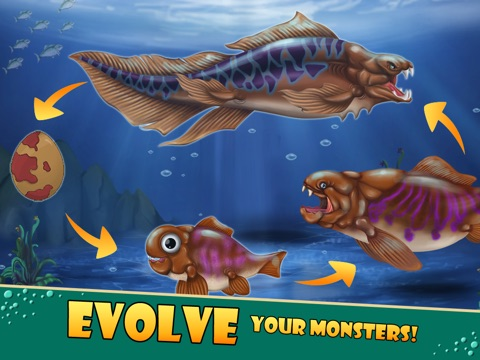 Скачать Sea Monster City - Monsters evolution & battle games