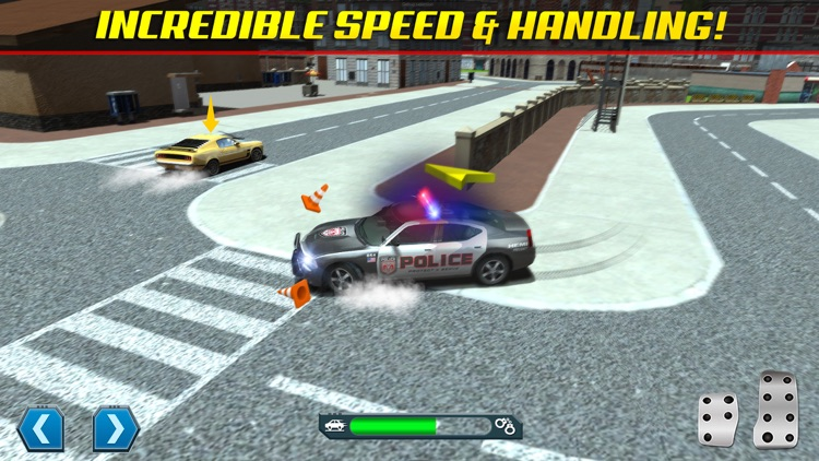 Police Chase Traffic Race Real Crime Fighting Road Racing Game screenshot-4