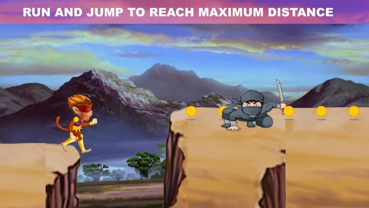 Angry Ninja Chimp Run - Jungle Adventure screenshot-4