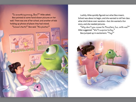 Monsters Inc What I Did On My Summer Vacation By Disney Book