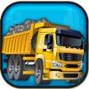 Construction Zone Truck: Parking Lot Paver