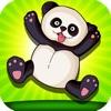 クレイジー飛行パンダのゲーム: ジャングルからの脱出します。 楽しい無料動物ゲーム